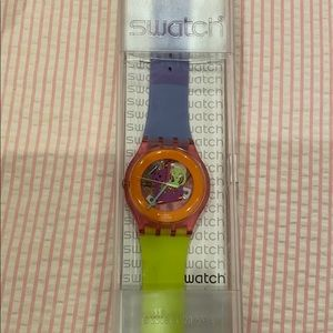 Green and Purple Swatch